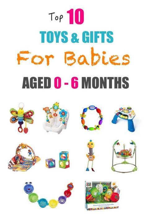 Altersgerechtes Spielzeug 6 Monate