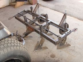 Garden Tractor Progress 6 Cultivator With Images Garden Tractor Tractor Attachments Garden Tractor Attachments