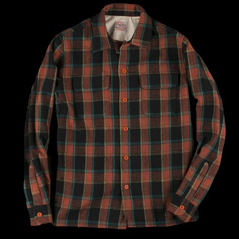 Beloved Mens Dress Slim Fit Buffalo Plaid Checked Long Sleeve Flannel Shirts