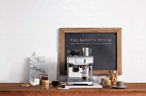 Breville Bes880bss Barista Touch Espresso Maker Learn More By Visiting The Image Link This Is An Af Espresso Machine Home Espresso Machine Coffee Machine