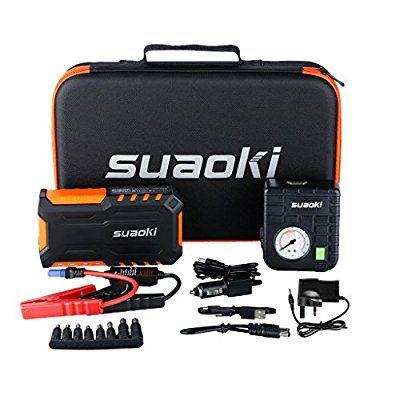Avviatore Emergenza Portatile.Suaoki Jump Starter G7 Plus Avviatore Di Emergenza Auto