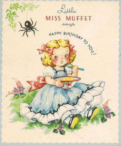 cute little miss muffet by in pastel, via Flickr