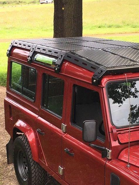 Cargobear Sloping Roof Rack Lr Defender Land Rover Defender