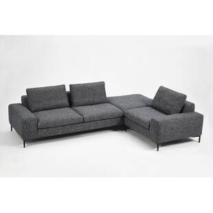 Stephaine Sleeper Sectional Allmodern Modern Sofa Sectional Modular Sectional Modular Sectional Sofa