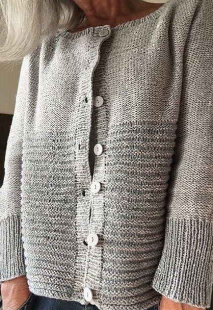Garter stitch Knitting patterns free Pinterest # in 2020