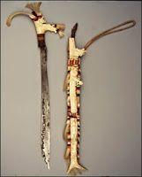 Senjata Tradisional Kalimantan Timur Senjata Gambar Budaya