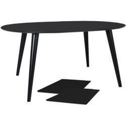 Esstisch Rund Ausziehbar Schwarz 120 160 200 Cm Noranimarahome De Ausziehbar Esstisch Noranimarah In 2020 Dining Table Black Round Dining Table Round Kitchen Table