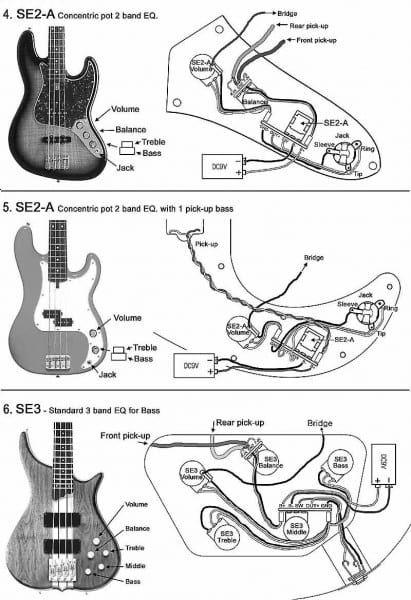 P Bass Wiring Mods   Bass guitar pickups, Fender jazz bass, Bass guitar  scales   Bass Guitar Pickup Wiring Diagram Two      Pinterest
