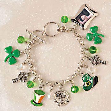 Charm Bracelet Irish