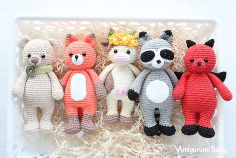 Cuddle Me Cow Amigurumi Pattern Estilo Pinterest Crochet