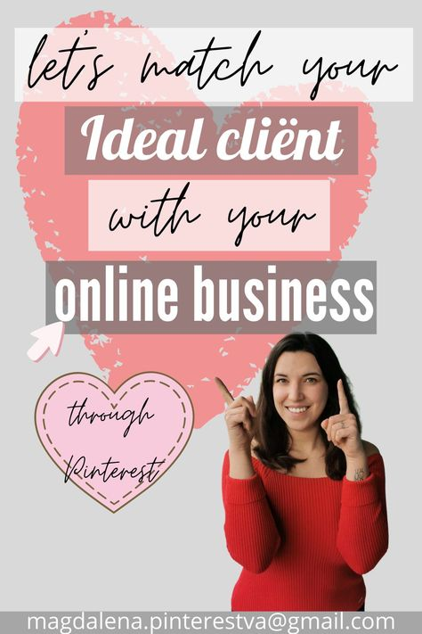 Let your ideal client find you through Pinterest marketing.