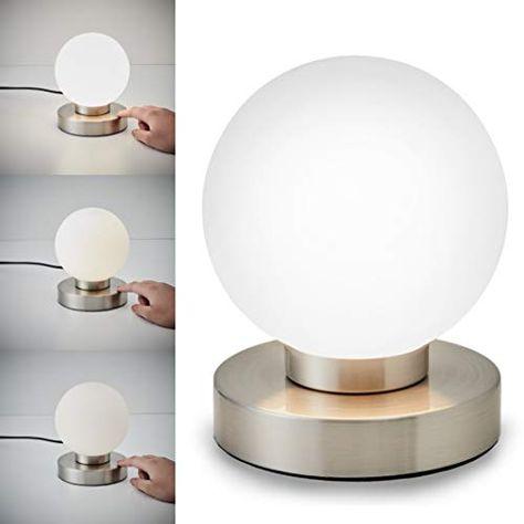Tischlampe Dimmer Touchfunktion Nachttischlampe Tischleuchte Nachttischleuchte