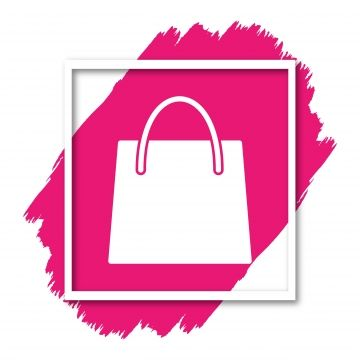 Shopping Bag Icon For Your Design Websites And Projects Shopping Icons Bag Icons Bag Png And Vector With Transparent Background For Free Download Mini Canvas Art Background Patterns Branding Design Logo