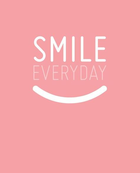 If you do this, you'll feel better and so will others around you.  Smiles are contagious!