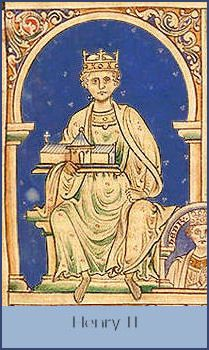 Henry II (1154-89) Arguably one of the most effective Kings ever to wear the English crown and the first of the great Plantagenet dynasty, the future Henry II was born at Le Mans, Anjou on 5th March, 1133.