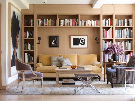 Апартаменты дизайнера моды в теплой современной классике в Нью-Йорке