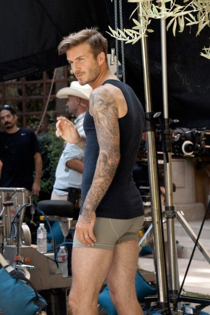David Beckham shoots new Bodywear at H&M film directed by Guy Ritchie David Beckham shoots his new Bodywear at H film directed by Guy Ritchie