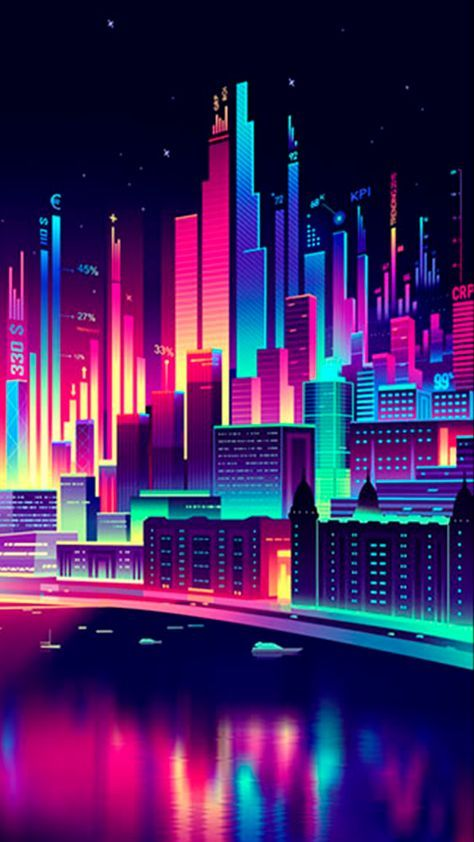 Wall Paper Iphone Neon City 51 Ideas Neon Wallpaper Aesthetic
