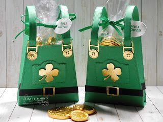 Green Candy Bags - Party Favor Bags Green Stripe Favor Bags Paper Gift Bag Treat Bags 25 pack St Patrick/'s Day