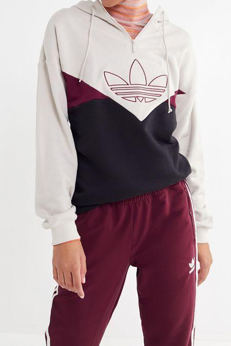 adidas CLRDO OG Colorblock Hoodie Sweatshirt en 2020   Buzo ...