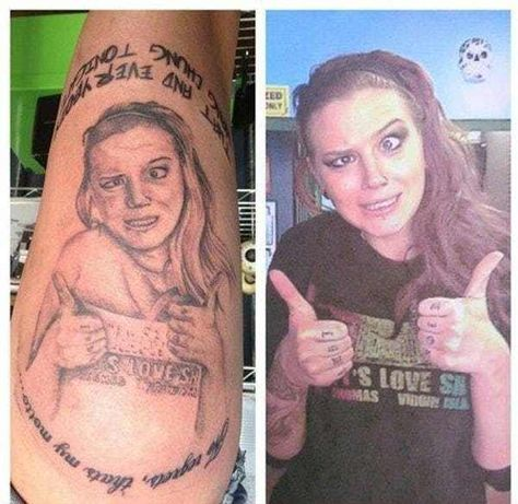 Photo Selection: More Importan... is listed (or ranked) 3 on the list 26 Of The Most Regrettable Girlfriend Tattoos Ever