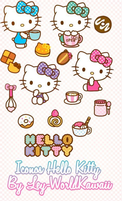 Ley Worldkawaii Pack Iconos Hello Kitty Set 2 Iconos Hello Kitty Hello Kitty Backgrounds Hello Kitty Images Hello Kitty Wallpaper