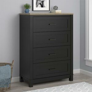 Fleetwood Free Standing Jewelry Armoire With Mirror In 2020 4 Drawer Dresser Dresser Drawers Black Rooms