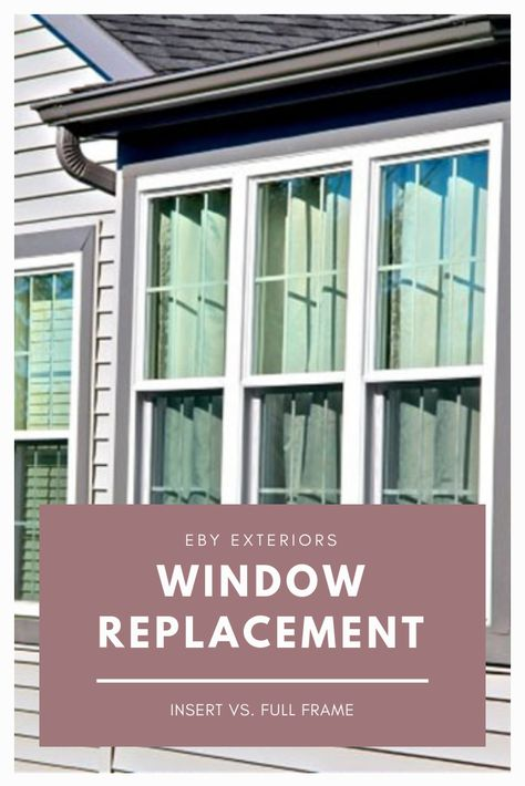 Do You Know The Difference Between Insert And Full Frame Windows