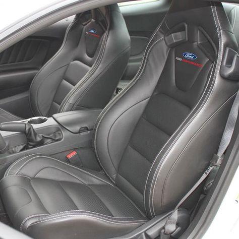 2017 Mustang Ford Performance Logo Recaro Seat Set