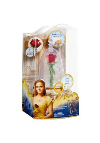 22++ Disney beauty the beast enchanted rose jewelry box info