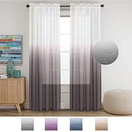 Ceremony Backdrop Ideas Dip Dyed Curtains Curtains Sheer Linen Curtains Curtains Bedroom