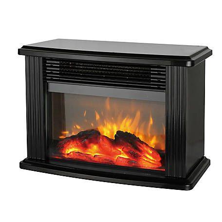 Redstone Tabletop Fireplace Heater Black Fej 16a At Tractor Supply Co Tabletop Fireplaces Fireplace Heater Fireplace