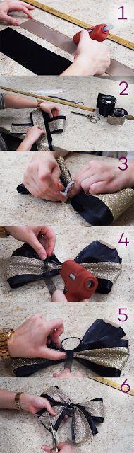 CheerandPom Blog: Cheer and Pom DIY: How to Make a Cheerleading Bow.
