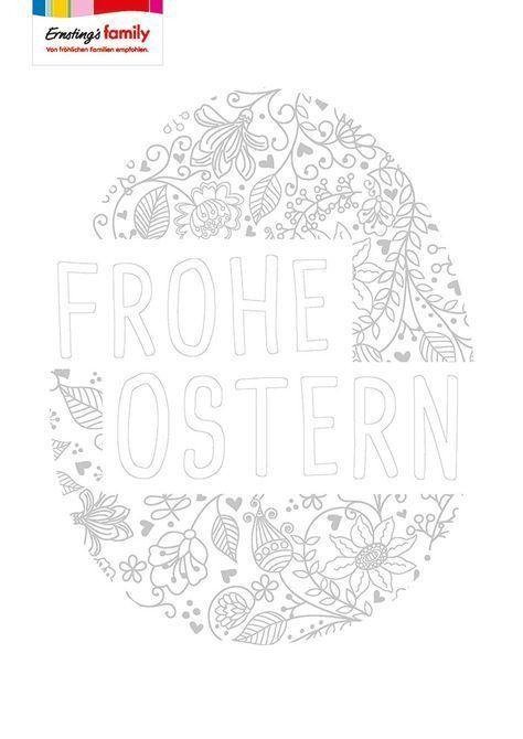 Malvorlage Fur Ostern Pdf Zum Download Malvorlagen Ostern Osterei Ausmalbild Ostern Grundschule