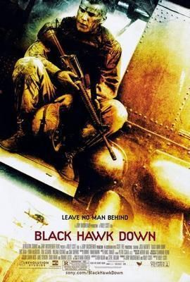 Black Hawk Down Movie Poster Metal Sign Wall Art 8in X 12in