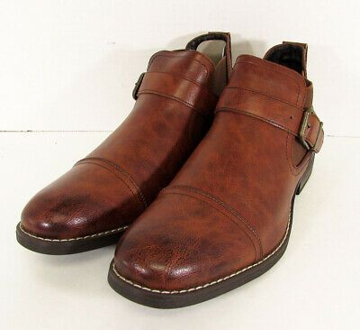 9c6187d07a3 Ad)eBay - $50 Day Five Mens Slip On Chelsea Ankle Boot Shoes, Brown ...