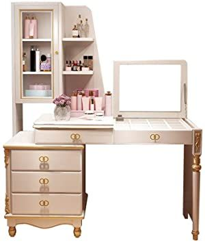 Vanity Table Dressing Table Chair Set Dressing Table Computer Desk Writing Telescopic Dress Dressing Room Decor Dressing Table With Chair Dressing Room Design