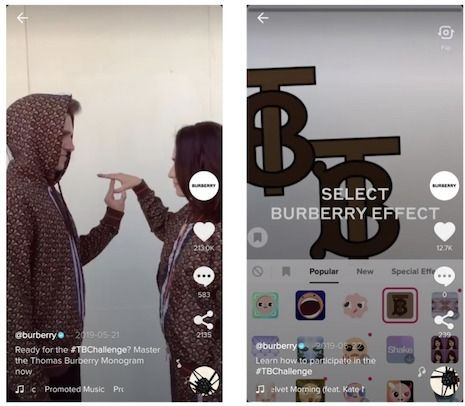 Tiktok Is A Social Network In Which Users Challenge Their Friends To Battles Brands That Want To Engage Users Are Creating Fun Challenges The Report Found G