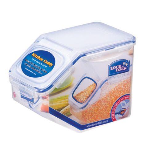 Lock Lock Easy Essentials Pantry 20 Cup Rectangular Food Storage