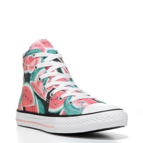 3b36fa59b96e08 Converse Kids  Chuck Taylor All Star Seasonal High Top Sneakers (Vapor  Pink Green Glo)