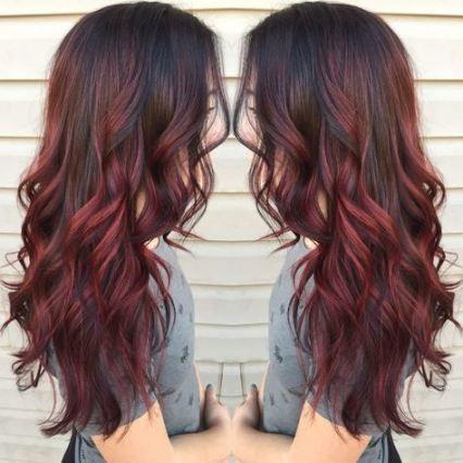 22 Ideen Für Haare Blond Braun Balayage Rot Highlights Red