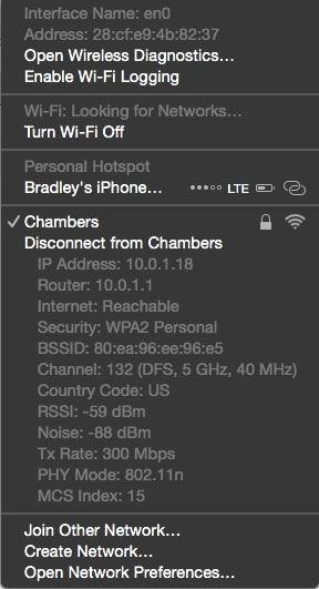 Quick Tip Disconnect From An Existing Wi Fi Network On Your Mac The Sweet Setup Phone Info Wifi Networking