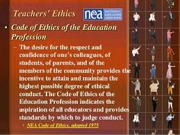 Best Code Of Ethics For Teachers Images On   Law