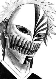 Resultado De Imagen Para Ichigo Hollow Mask Bleach Drawing Bleach Art Bleach Tattoo
