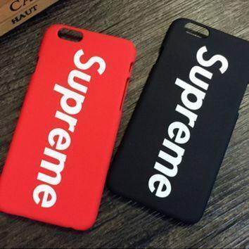 coque iphone 7 supreme nike
