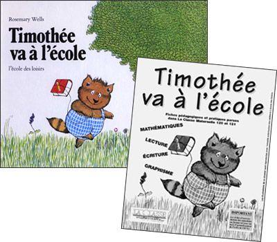 Berühmt Timothée va à l'école - Kit pédagogique MS-GS | E albums  MZ28