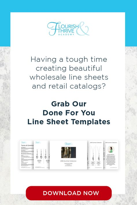 Are you currently in the process of developing your next jewelry - line sheet template download
