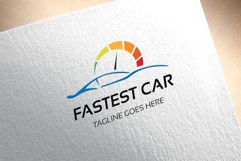 Fastest Car Logo by tkent on @creativemarket