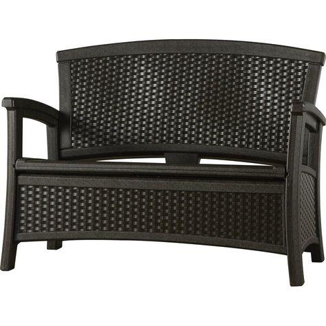 Suncast Outdoor Elements Storage Bench Ad Sponsored Aff Outdoor Bench Storage Suncast In 2020 Home Decor Decor Furniture