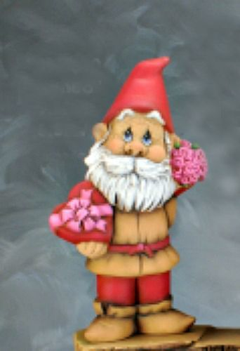 Romeo Little Gnome Valentine Paint Your Own Ceramic Figurines